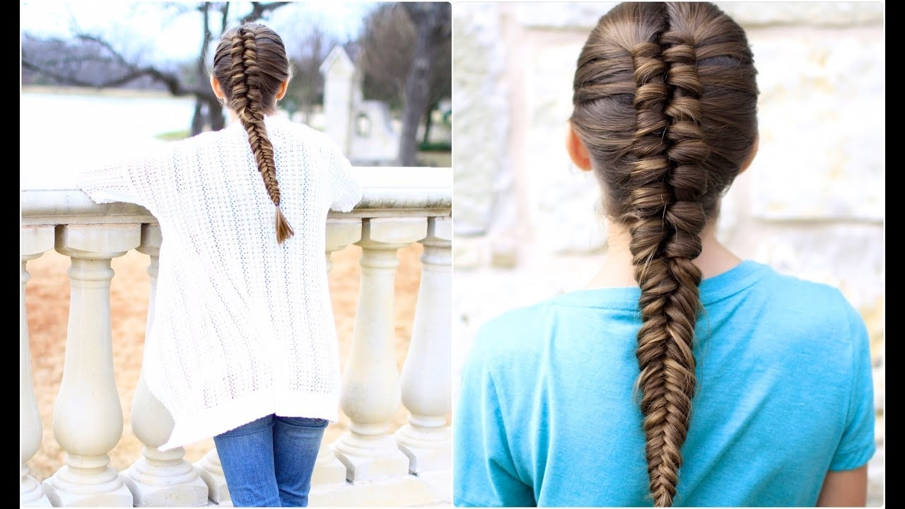 Widely Used Pony And Dutch Braid Combo Hairstyles With Regard To Infinity Braid Combo (View 20 of 20)