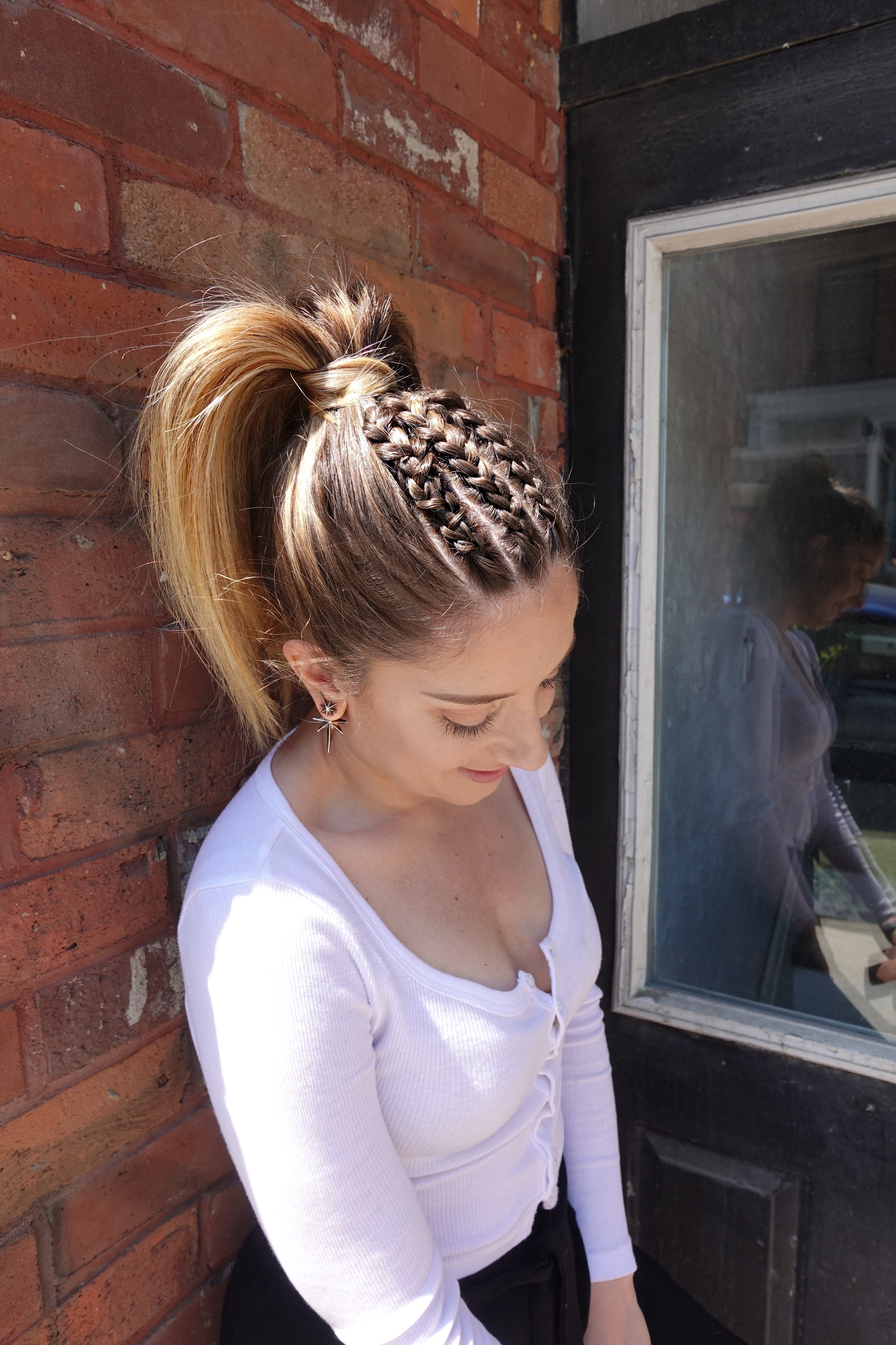 Widely Used Straight Triple Threat Ponytail Hairstyles Regarding Trending Festival Hairstyles + Contest #insider – Sheblogs (View 20 of 20)