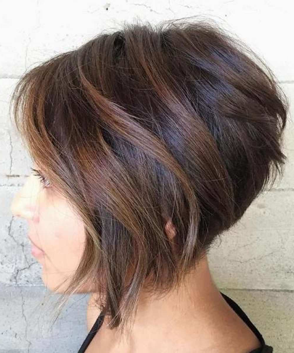 Women Short Layered Haircuts Awesome Short Layered Hairstyles 2018 Intended For Short Layered Hairstyles (View 20 of 20)