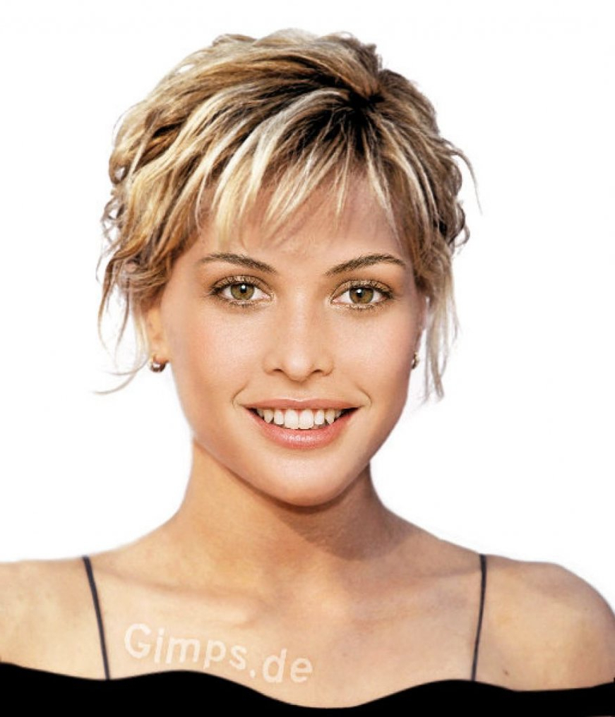 Womens Short Hairstyles For Thick Hair – Best Hairstyles & Haircuts Pertaining To Straight Pixie Hairstyles For Thick Hair (View 20 of 20)