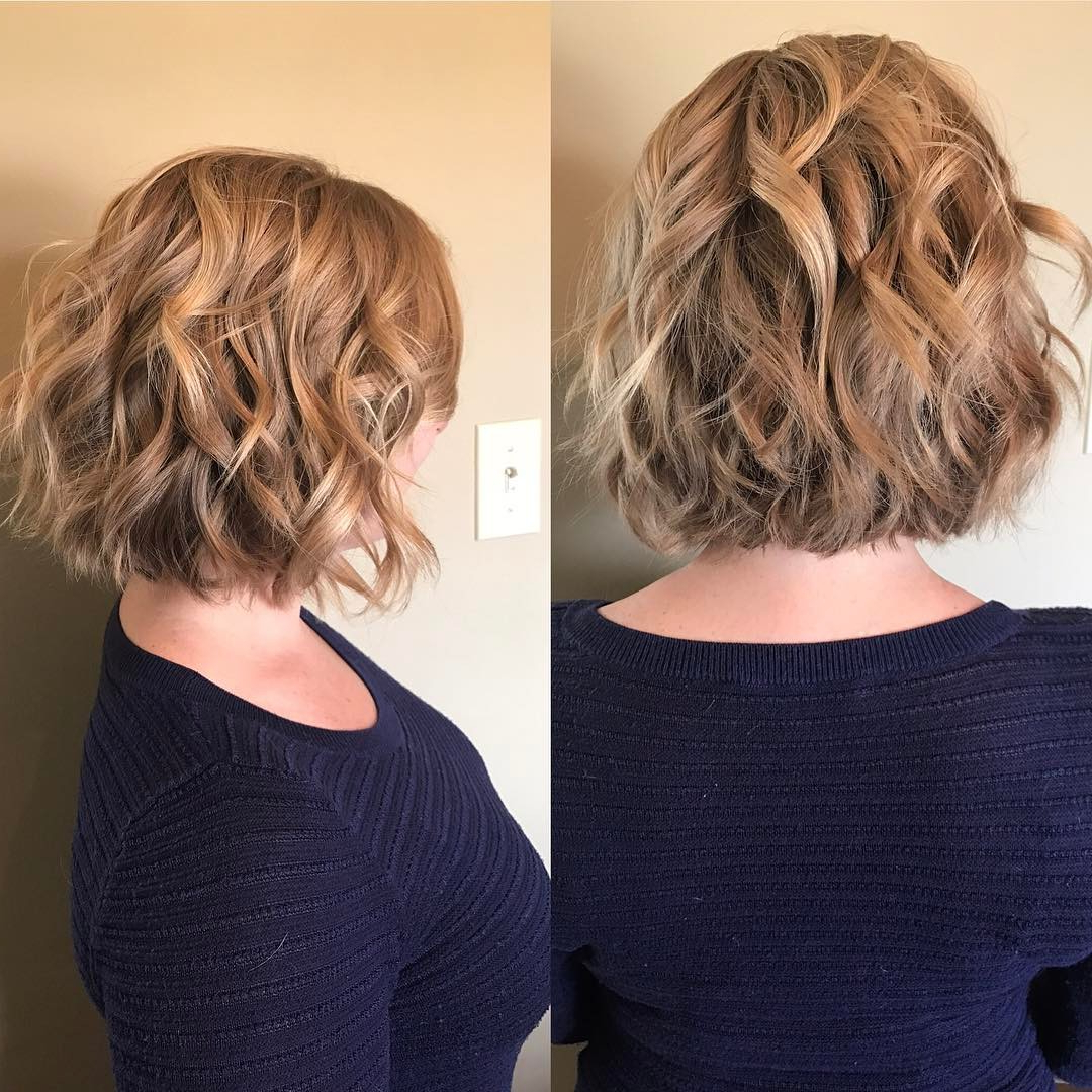 10 Best Short Hairstyles And Haircuts For Short Hair 2019 Pertaining To One Length Balayage Bob Hairstyles With Bangs (View 3 of 20)