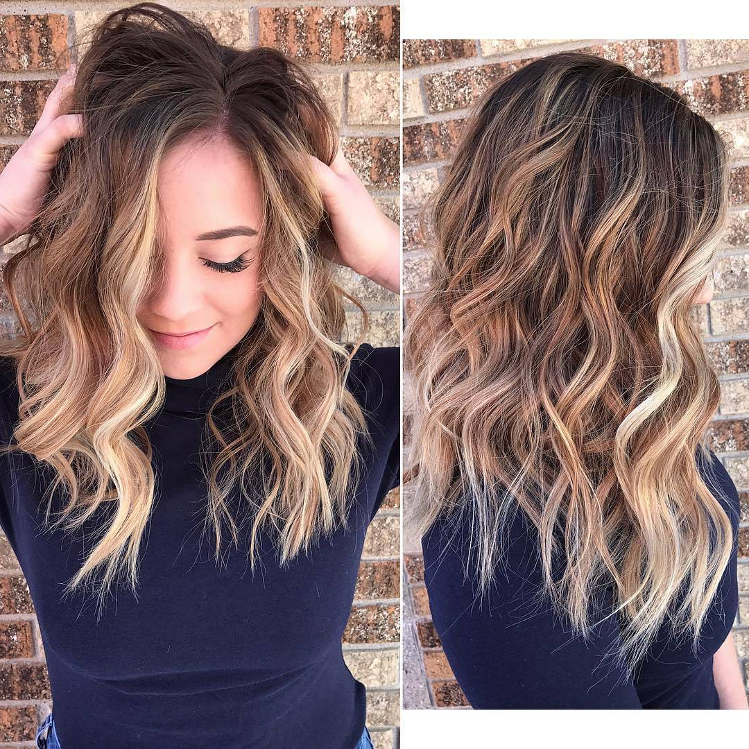 10 Blonde Balayage Hair Color Ideas In Beige Gold Silver & Ash In Silver And Sophisticated Hairstyles (View 2 of 20)