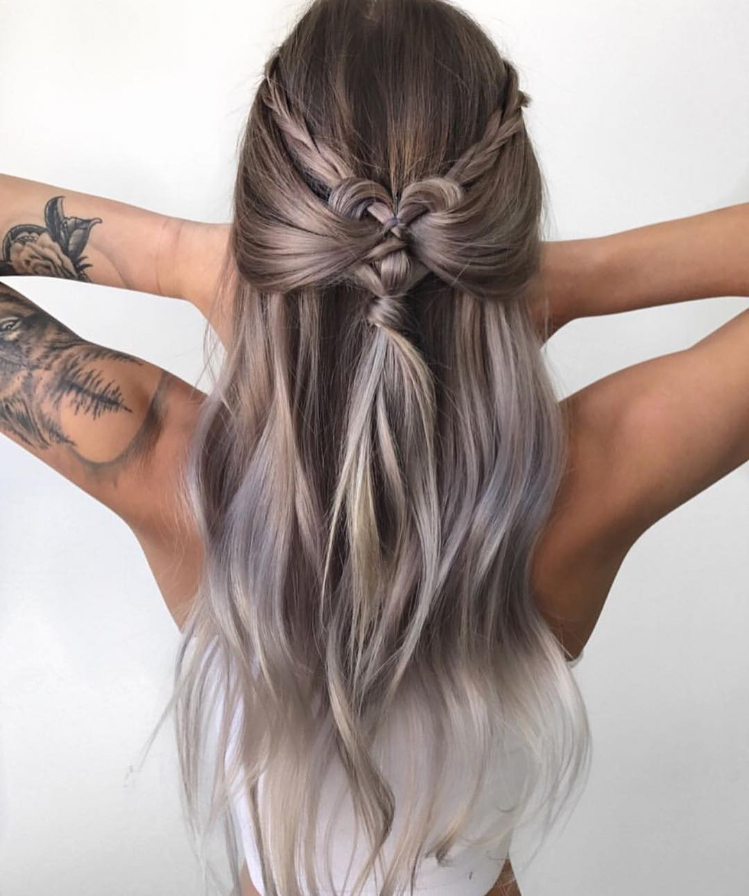 10 Braided Hairstyles For Long Hair – Weddings, Festivals & Holiday In Silver And Sophisticated Hairstyles (View 8 of 20)