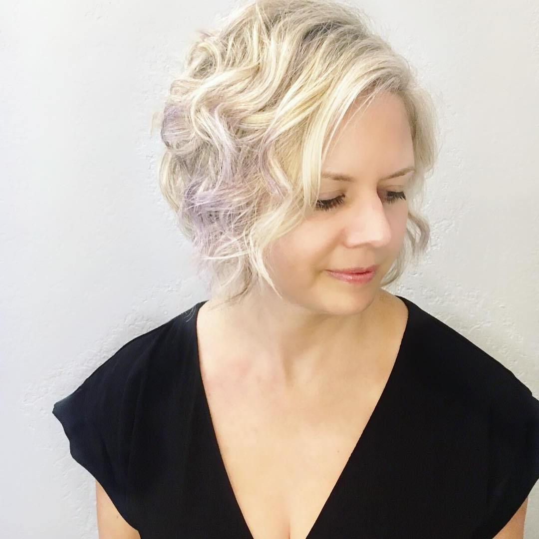 10 Latest Short Hairstyle For Women Over 40 – 50: Short Haircuts 2019 Throughout Lavender Hairstyles For Women Over (View 11 of 20)