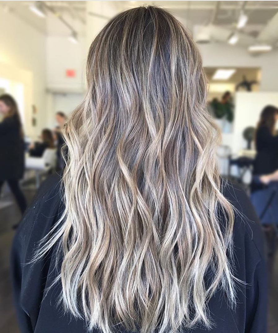 10 Layered Hairstyles & Cuts For Long Hair In Summer Hair Colors Within Gray Hairstyles With High Layers (View 2 of 20)