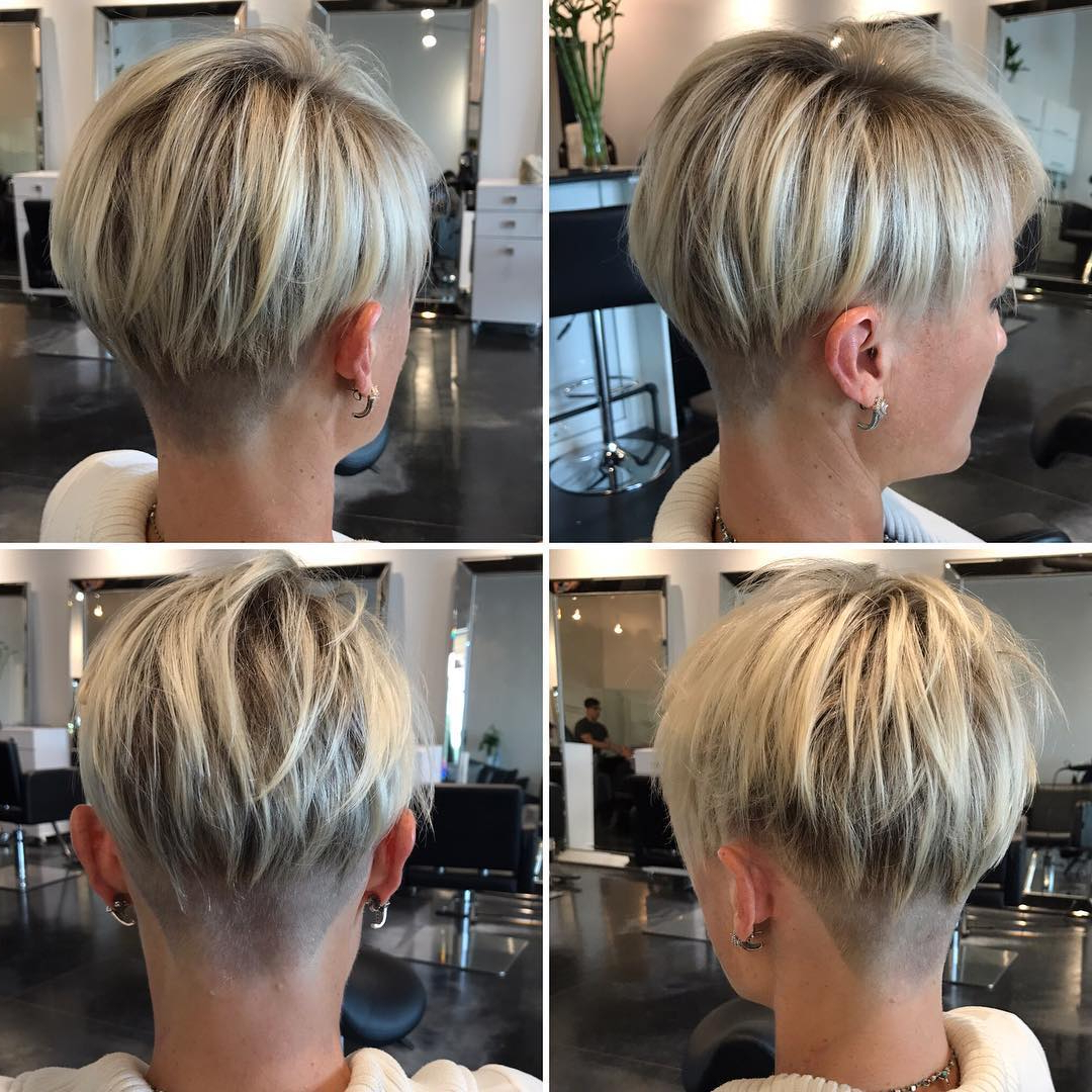 10 Peppy Pixie Cuts – Boy Cuts & Girlie Cuts To Inspire 2019 With Pixie Bob Hairstyles With Nape Undercut (View 2 of 20)