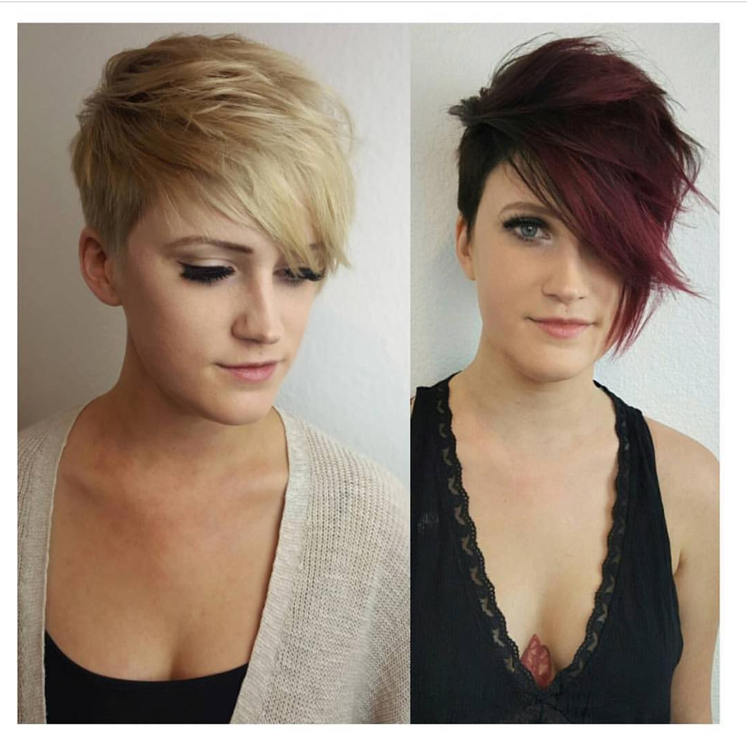 10 Stylish Pixie Haircuts – Women Short Undercut Hairstyles 2019 Pertaining To Ruffled Pixie Hairstyles (View 3 of 20)