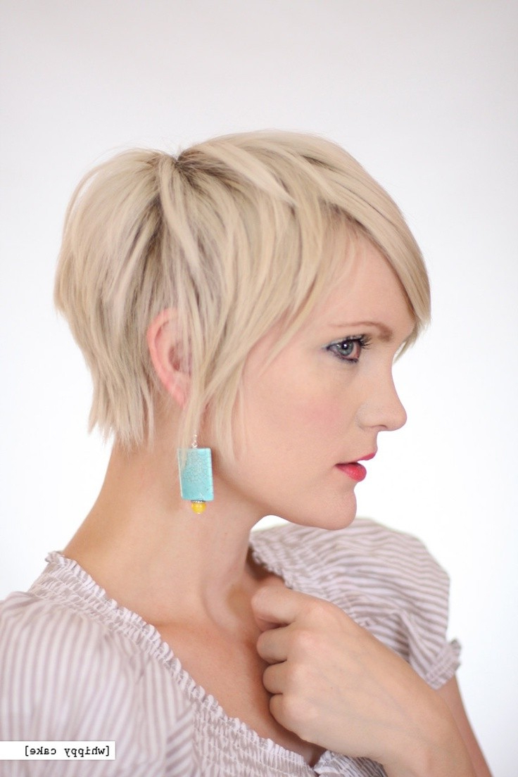 15 Trendy Long Pixie Hairstyles – Popular Haircuts For Layered Pixie Hairstyles With Textured Bangs (View 5 of 20)