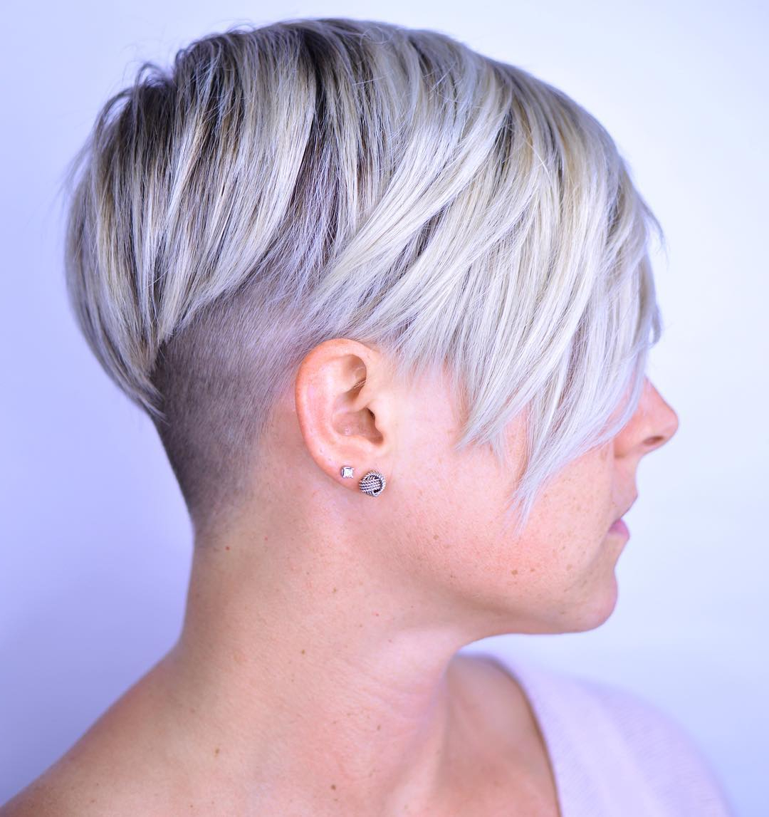 20 Bold And Daring Takes On The Shaved Pixie Cut With Regard To Pixie Bob Hairstyles With Nape Undercut (View 5 of 20)