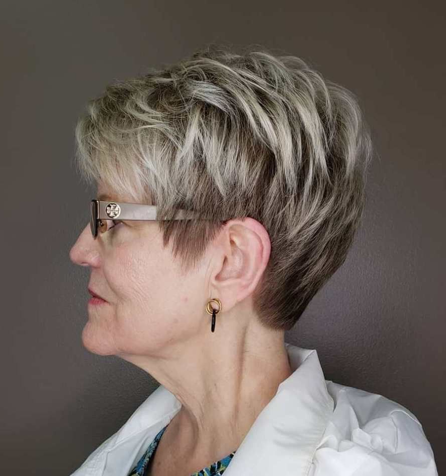 20 Charming Pixie Haircuts For Women Over 50 | Cortes Y Peinados Pertaining To Over 50 Pixie Hairstyles With Lots Of Piece Y Layers (View 2 of 20)