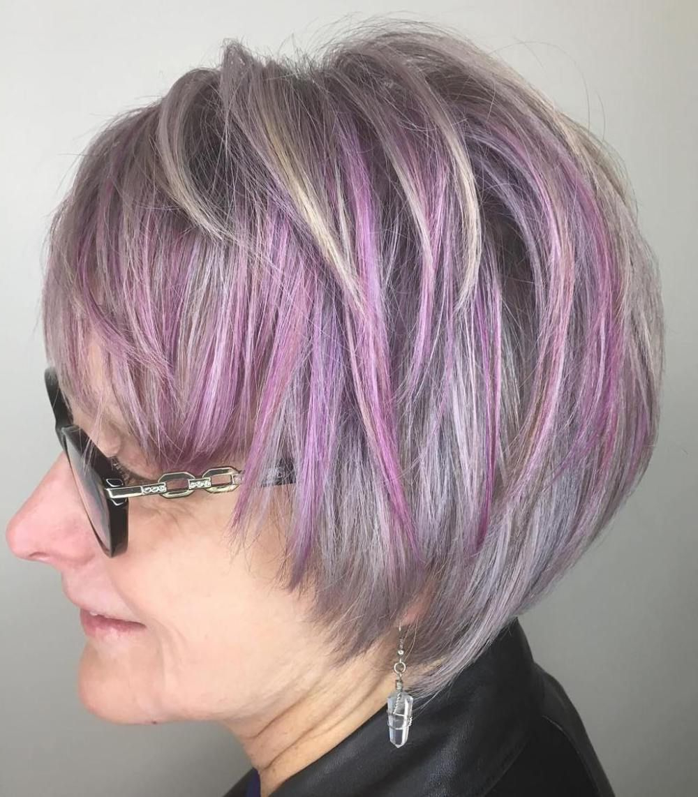 20 Hairstyles That Will Make You Look 10 Years Younger | All About Throughout Lavender Hairstyles For Women Over (View 7 of 20)