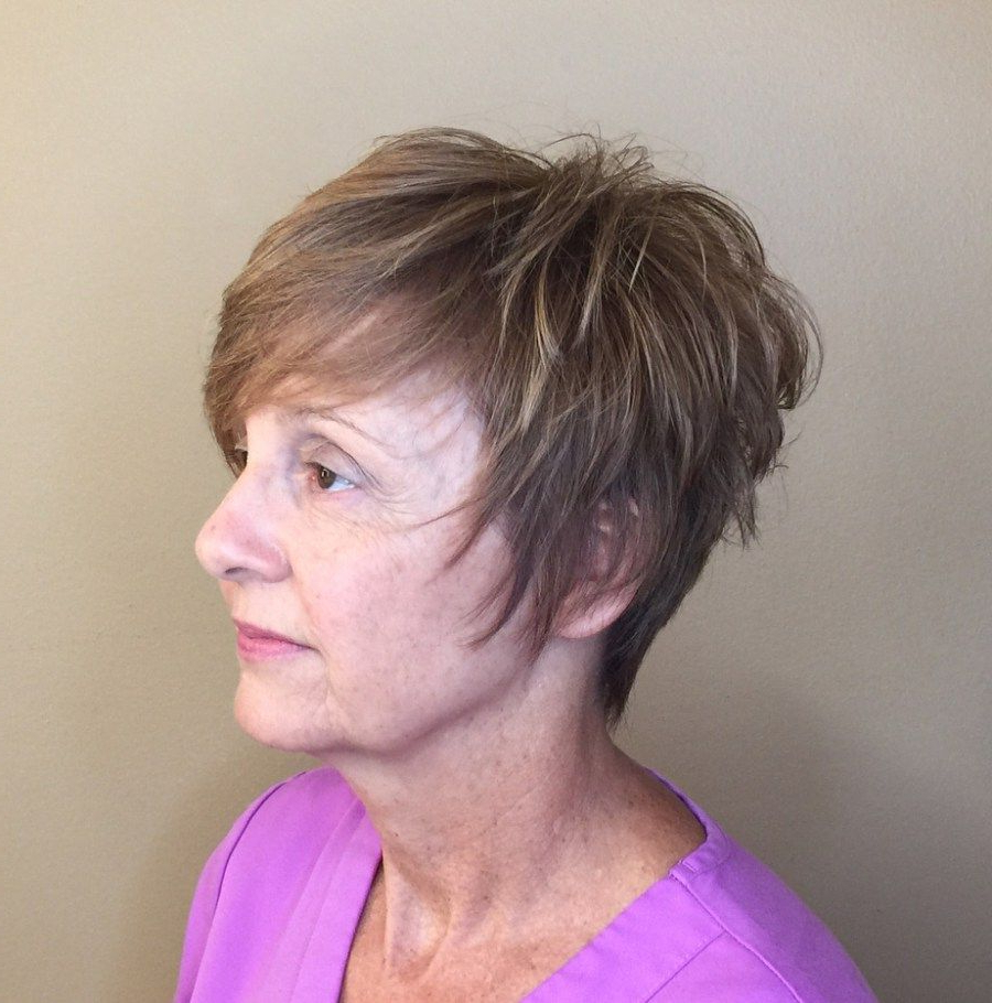 20 Shaggy Hairstyles For Women With Fine Hair Over 50 | Sideburns Pertaining To Volume And Shagginess Hairstyles (View 2 of 20)