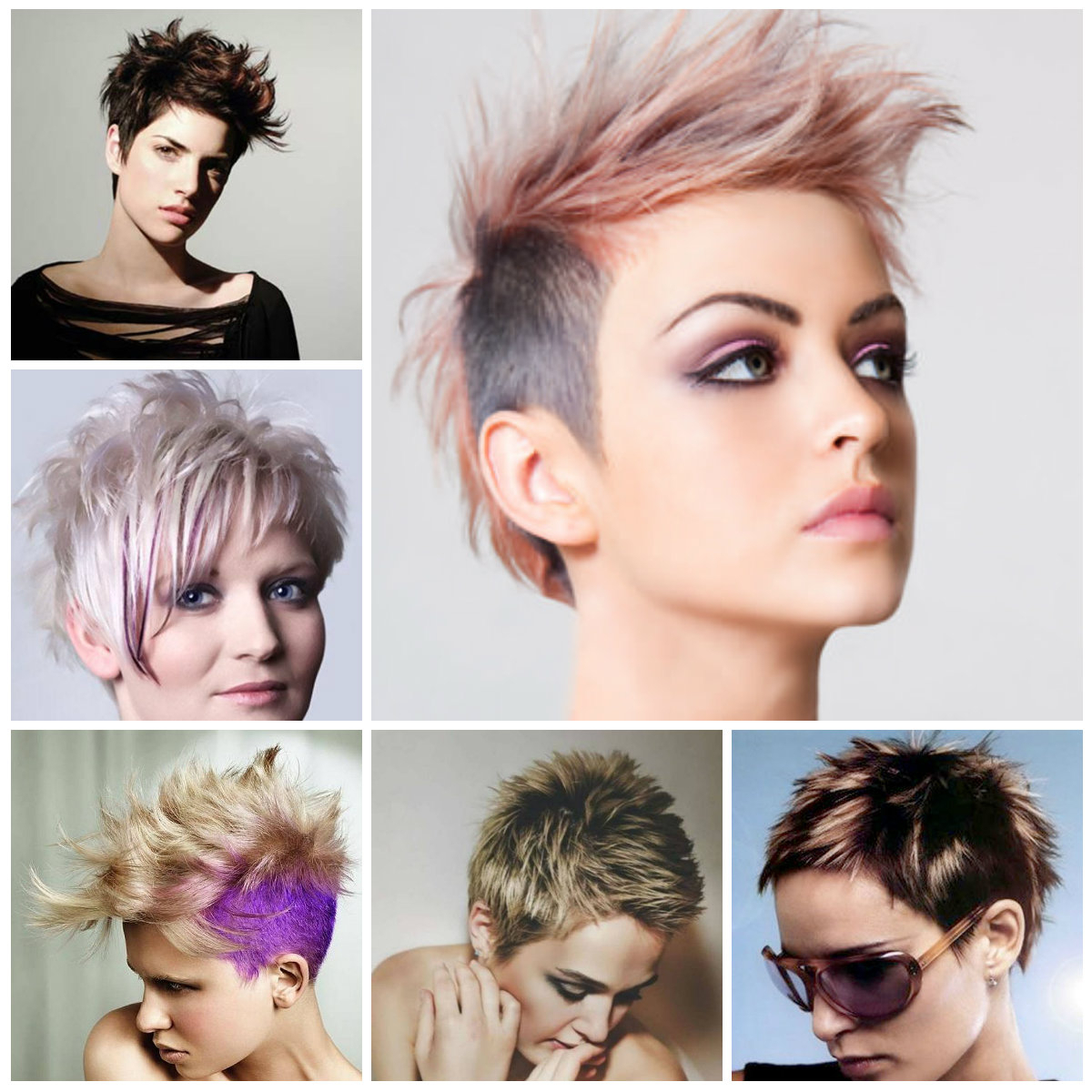 2019 Trendy Short Spiky Hairstyles For Women | Hairstyles For Women With Regard To Two Tone Spiky Short Haircuts (View 13 of 20)