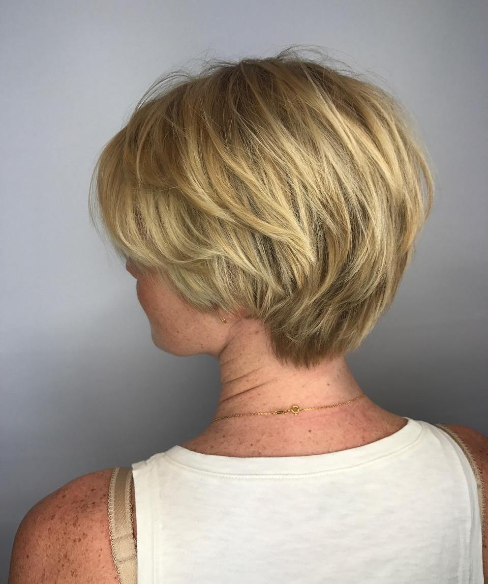 23 Modern Shag Haircuts To Try In 2018 With Airy Gray Pixie Hairstyles With Lots Of Layers (View 2 of 20)