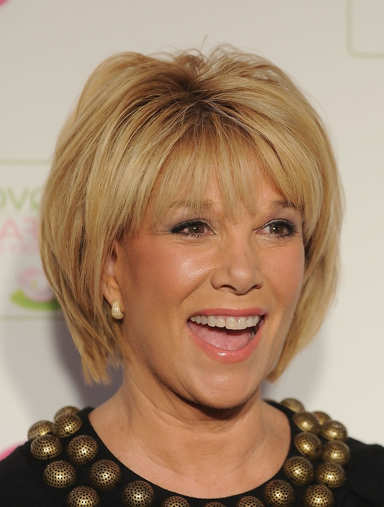 25 Easy Short Hairstyles For Older Women – Popular Haircuts Intended For Bouncy Bob Hairstyles For Women 50+ (View 3 of 20)