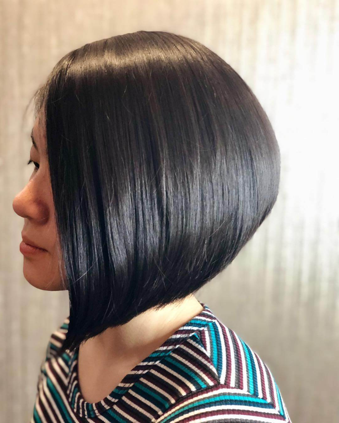 25+ Inspirational A Line Bob Haircuts And Hairstyles In Sleek Gray Bob Hairstyles (View 6 of 20)