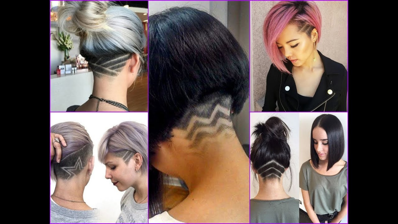 25 Undercut Bob Haircut Ideas For Women – New Hair Trends 2018 – Youtube With Regard To Angled Undercut Hairstyles (View 6 of 20)