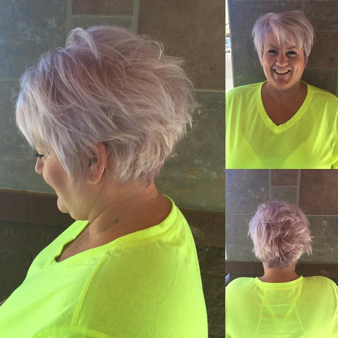 28 Edgy And Elegant Haircuts For Women Over 50 – Page 2 Of 6 With Regard To Lavender Hairstyles For Women Over (View 13 of 20)