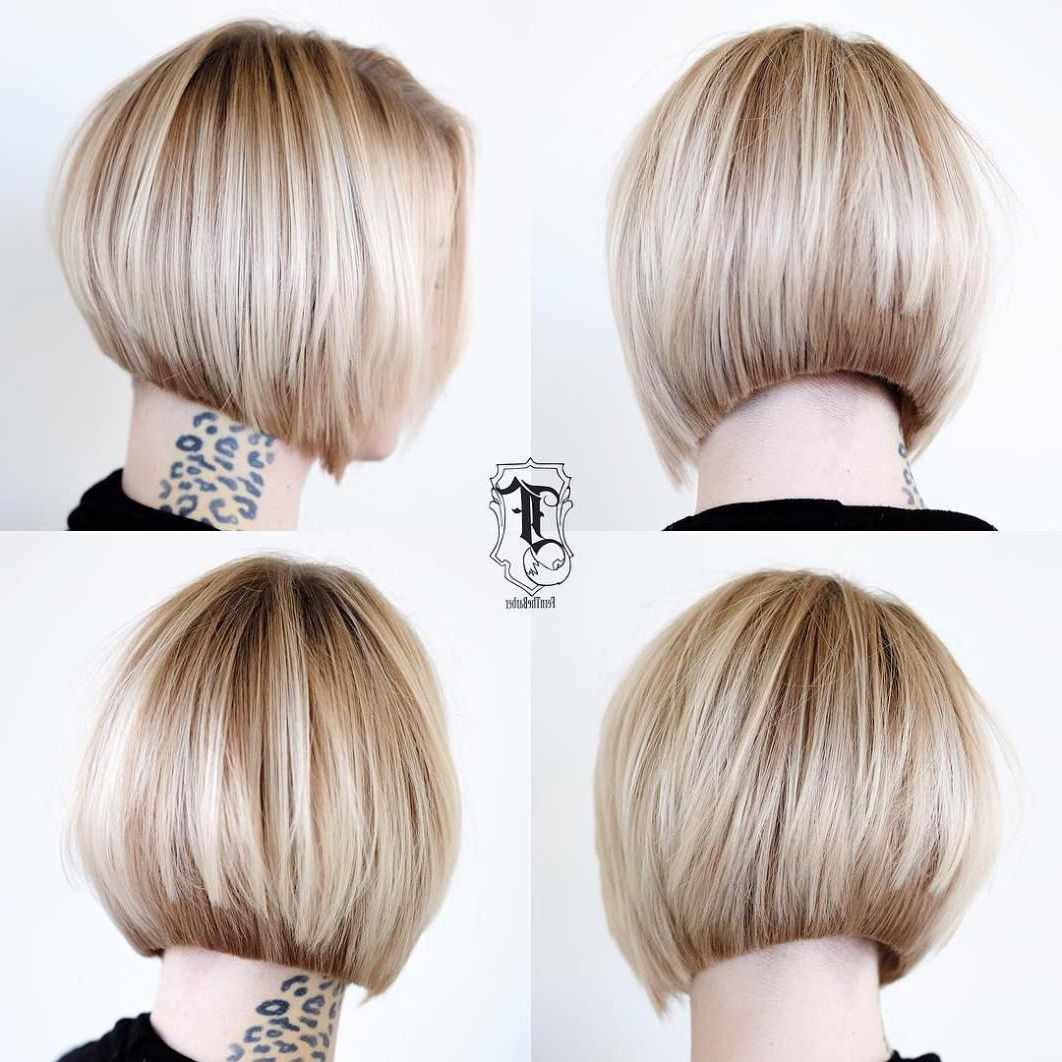30 Beautiful And Classy Graduated Bob Haircuts In 2018 | Hair In Brown And Blonde Graduated Bob Hairstyles (View 5 of 20)