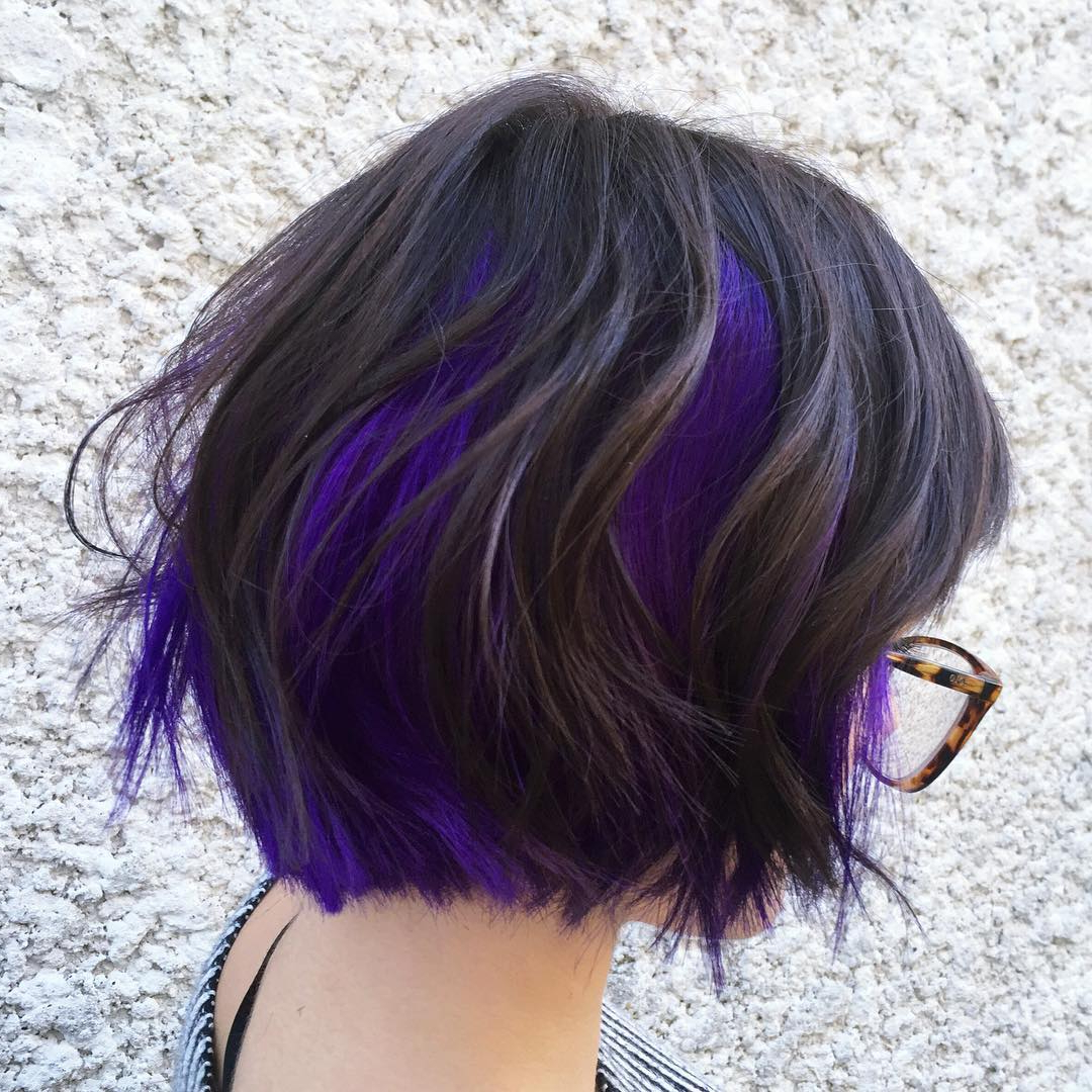 30 Best Balayage Hairstyles For Short Hair 2018 – Balayage Hair Intended For Short Messy Lilac Hairstyles (View 11 of 20)