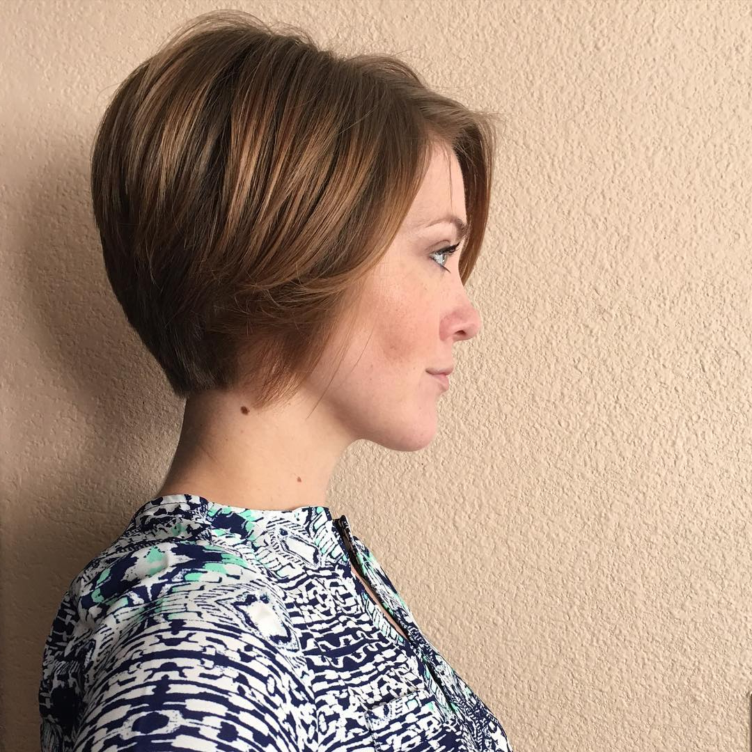 30 Chic Short Pixie Cuts For Fine Hair 2018 | Styles Weekly In Messy Pixie Bob Hairstyles (View 13 of 20)