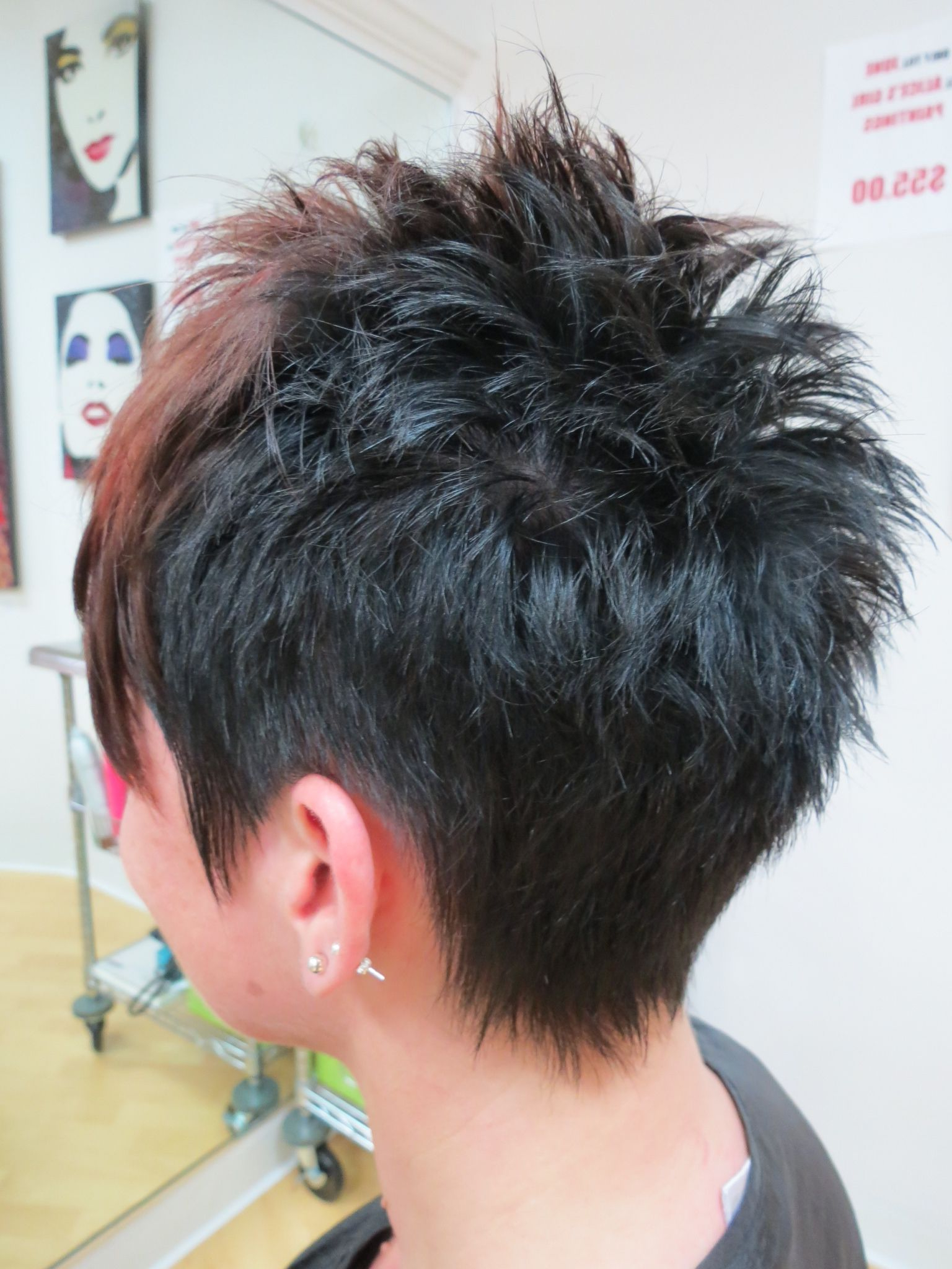 30 Spiky Short Haircuts | Hair | Pinterest | Short Hair Styles, Hair Pertaining To Spiky Gray Pixie Haircuts (View 2 of 20)