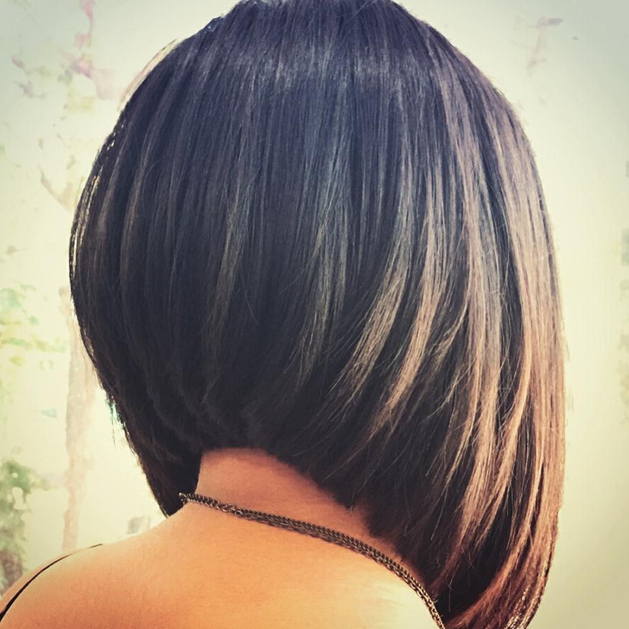 30 Super Hot Stacked Bob Haircuts: Short Hairstyles For Women 2018 In Stacked Bob Hairstyles With Bangs (View 2 of 20)