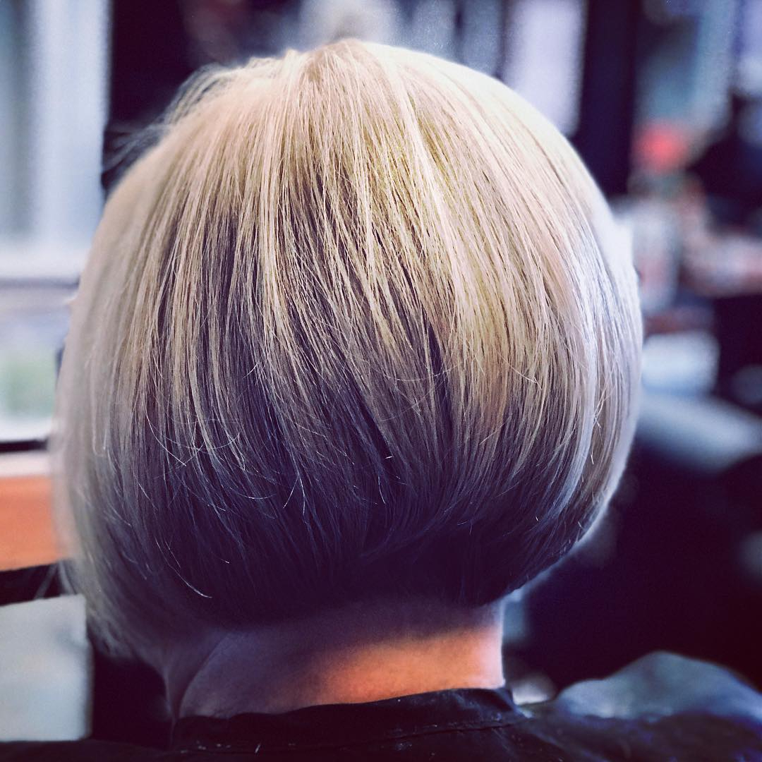 30 Super Hot Stacked Bob Haircuts: Short Hairstyles For Women 2018 Regarding Sassy And Stacked Hairstyles (View 4 of 20)