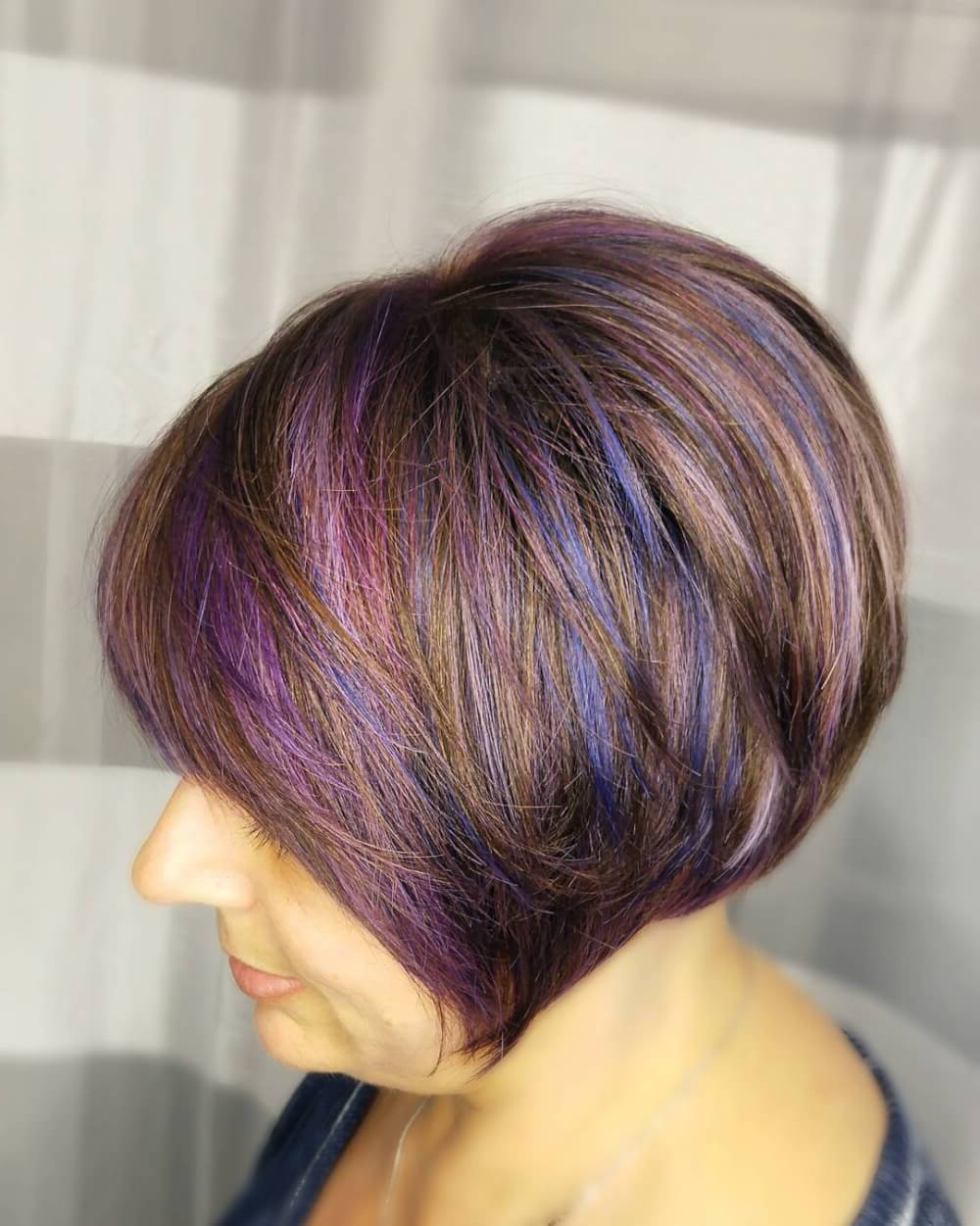 39 Youthful Short Hairstyles For Women Over 50 (with Fine & Thick Hair) Intended For Lavender Hairstyles For Women Over (View 4 of 20)
