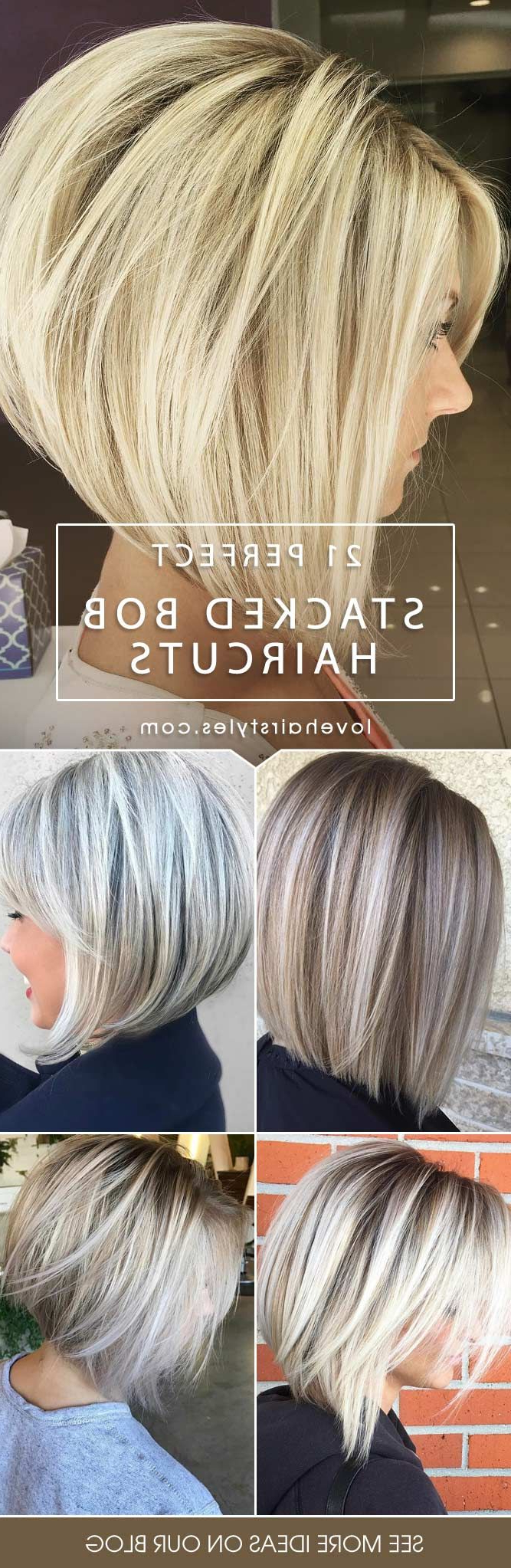 48 Fantastic Stacked Bob Haircut Ideas | Beauty | Pinterest | Hair For Sassy And Stacked Hairstyles (View 6 of 20)