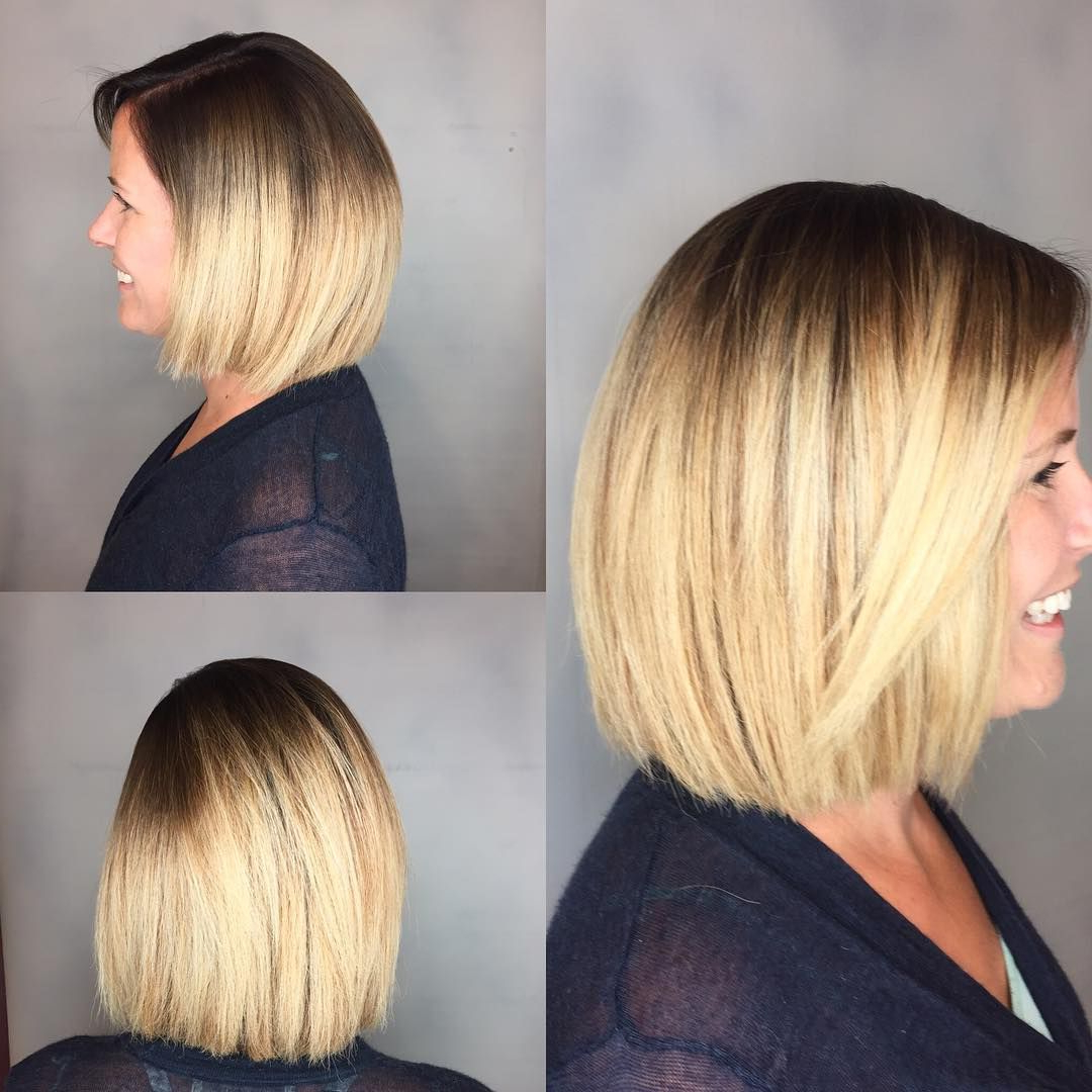 50 Amazing Blunt Bob Hairstyles You'd Love To Try – Bob Haircuts In Sleek Gray Bob Hairstyles (View 12 of 20)