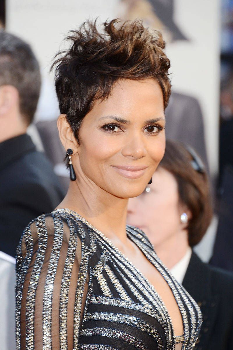 50 Best Pixie Cuts – Iconic Celebrity Pixie Hairstyles For Long Curly Salt And Pepper Pixie Hairstyles (View 15 of 20)