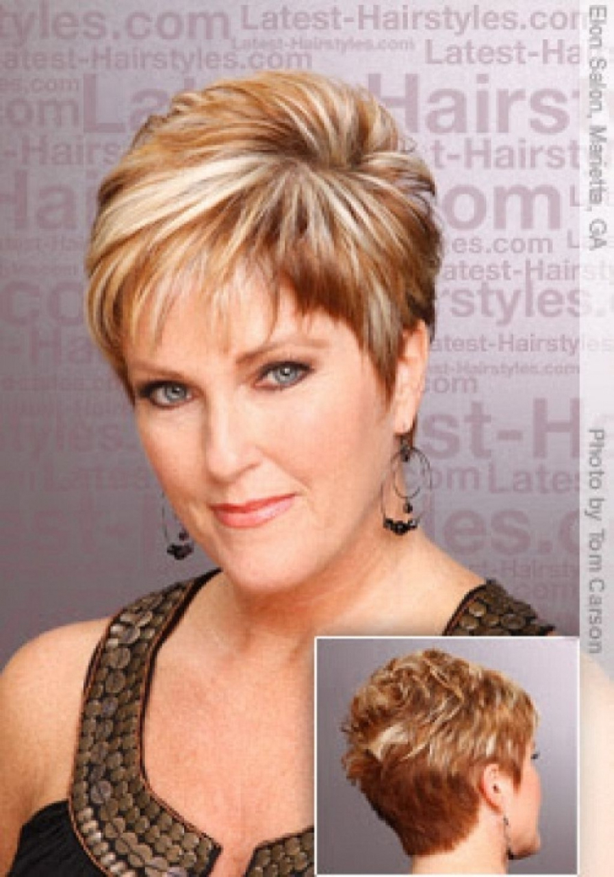 50 Hairstyles For Short Hair For Mature Women Luxury Beautiful Short Within Mature Short Layered Haircuts (Gallery 14 of 20)