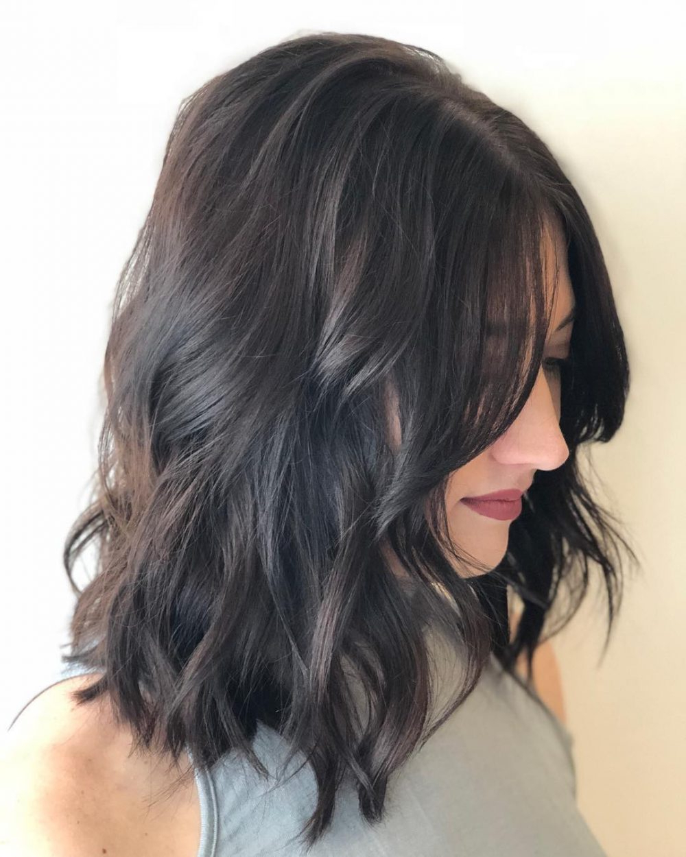 55 Perfect Hairstyles For Thick Hair (Popular For 2018) Inside Gray Hairstyles With High Layers (View 9 of 20)