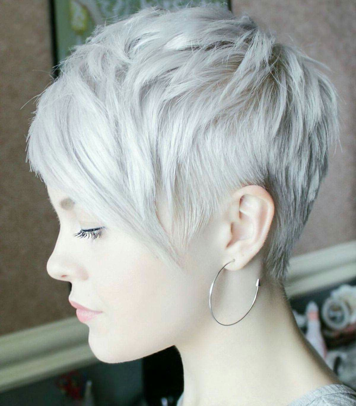 60 Awesome Pixie Haircut For Thick Hair 39 | Hairstyles For Little Regarding Gray Pixie Hairstyles For Thick Hair (Gallery 2 of 20)