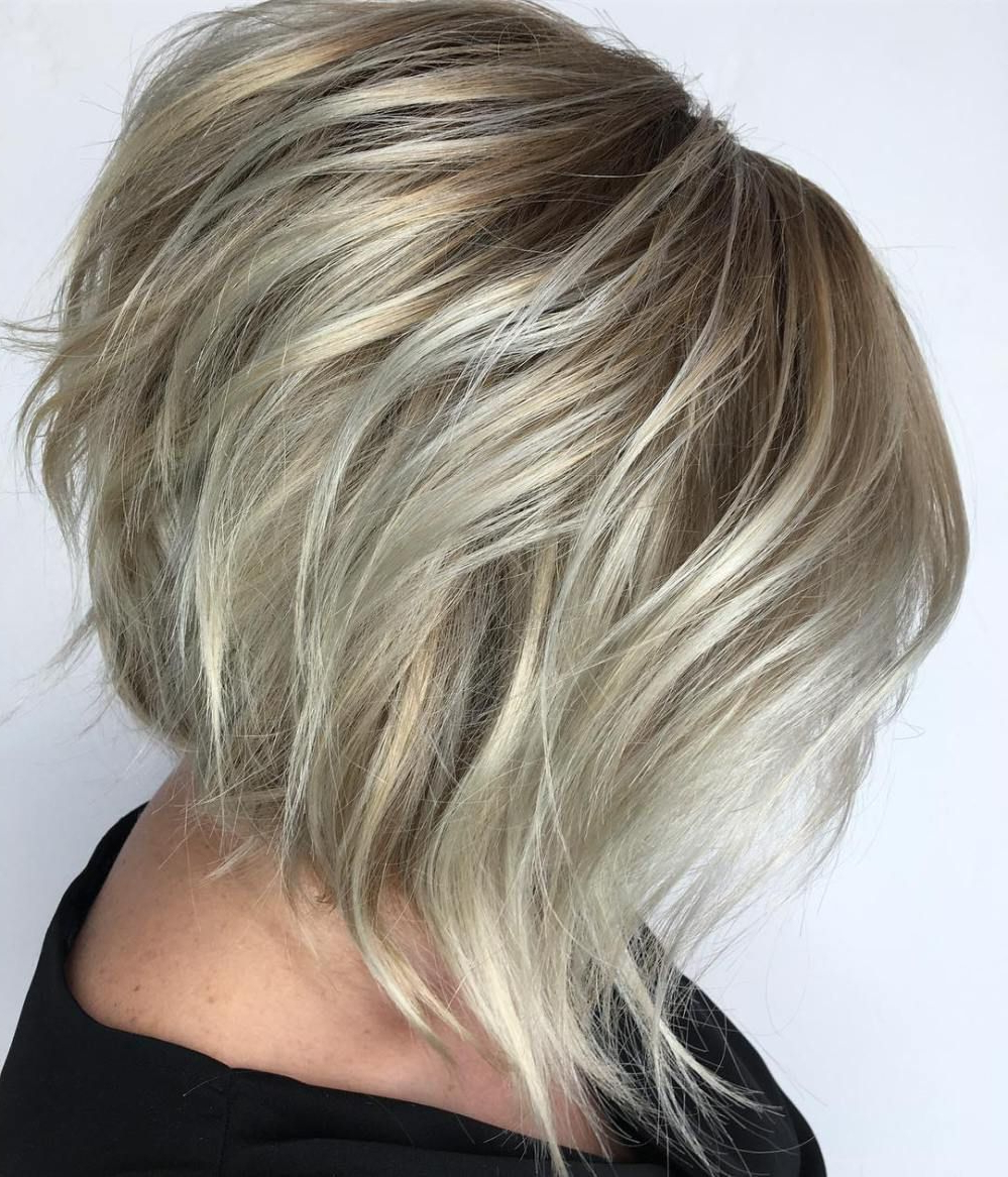 60 Beautiful And Convenient Medium Bob Hairstyles | Hairstyle With Regard To Wispy Silver Bob Hairstyles (View 6 of 20)