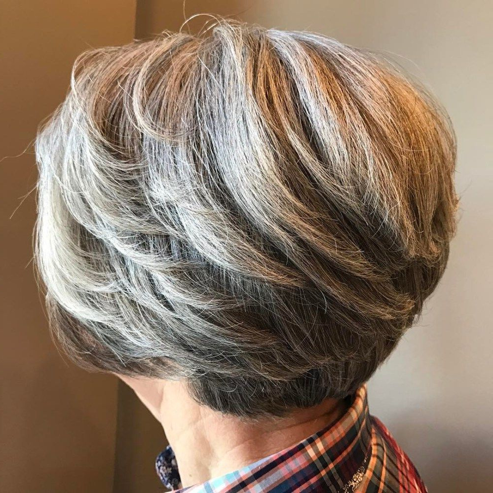 60 Best Hairstyles And Haircuts For Women Over 60 To Suit Any Taste For Feathered Back Swept Crop Hairstyles (View 2 of 20)