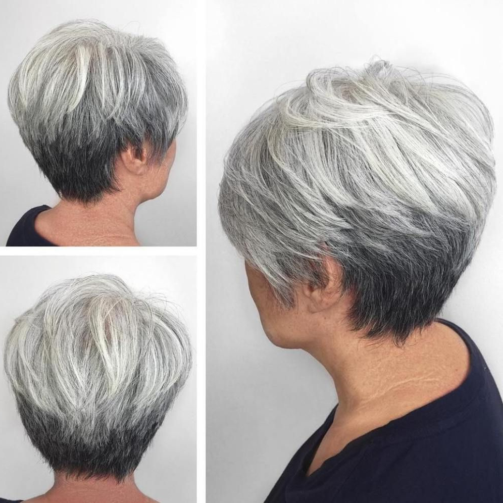 60 Best Hairstyles And Haircuts For Women Over 60 To Suit Any Taste Intended For Airy Gray Pixie Hairstyles With Lots Of Layers (View 7 of 20)