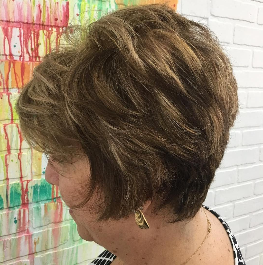 60 Best Hairstyles And Haircuts For Women Over 60 To Suit Any Taste Pertaining To Short Voluminous Feathered Hairstyles (View 11 of 20)