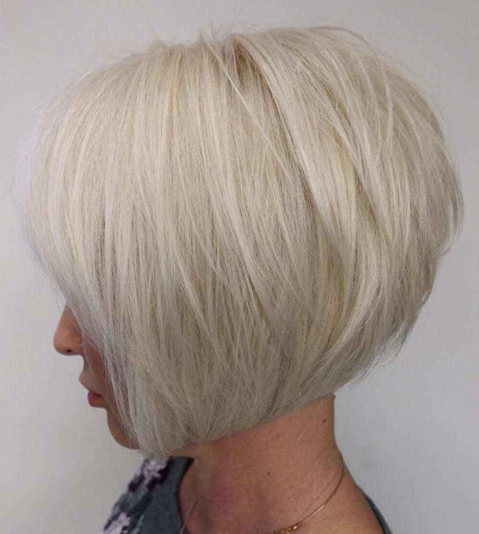 60 Best Short Bob Haircuts And Hairstyles For Women In 2018 | Hair Intended For Wispy Silver Bob Hairstyles (View 7 of 20)