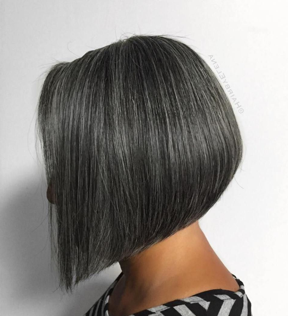 Featured Photo of Sleek Gray Bob Hairstyles