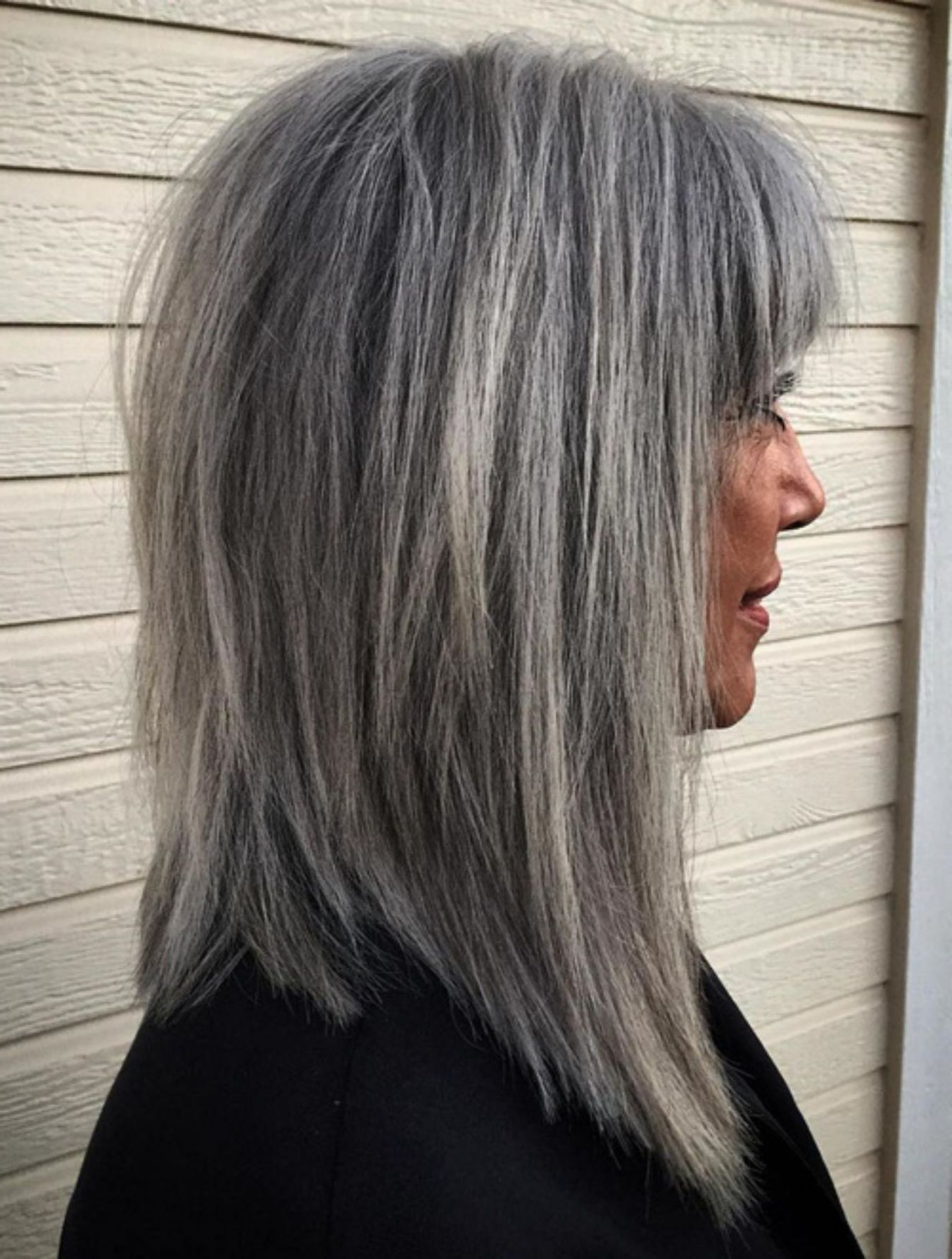 60 Gorgeous Gray Hair Styles | Salt Pepper | Pinterest | Gray Hair In Salt And Pepper Voluminous Haircuts (View 6 of 20)