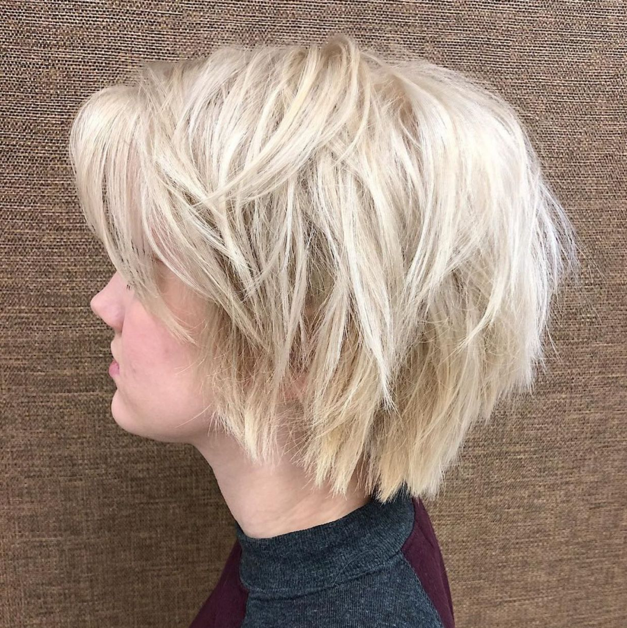 60 Short Shag Hairstyles That You Simply Can't Miss In 2018 | Bob Pertaining To Wispy Silver Bob Hairstyles (View 3 of 20)