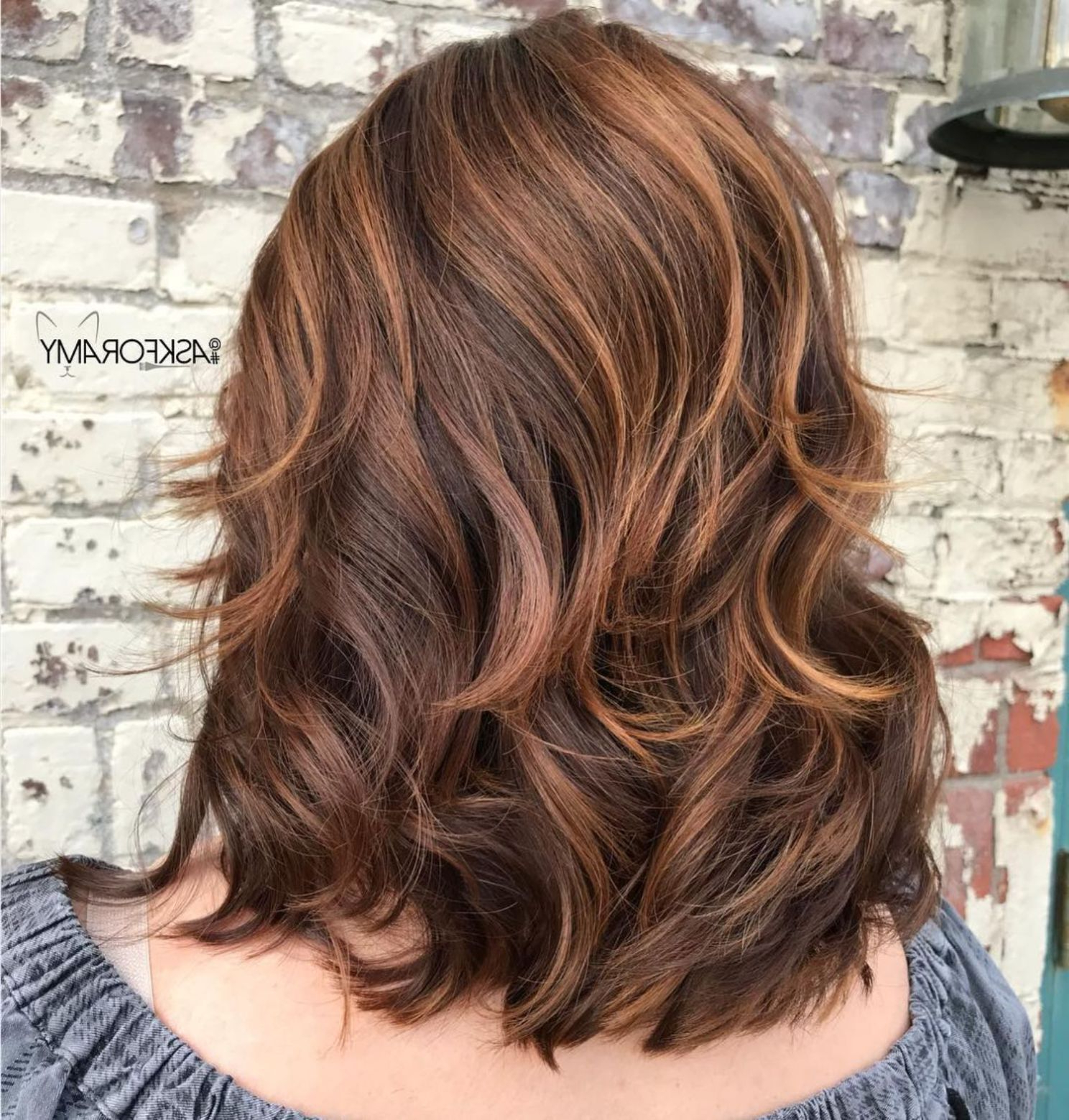 70 Brightest Medium Layered Haircuts To Light You Up | Hair In Chic Chocolate Layers Hairstyles (View 14 of 20)