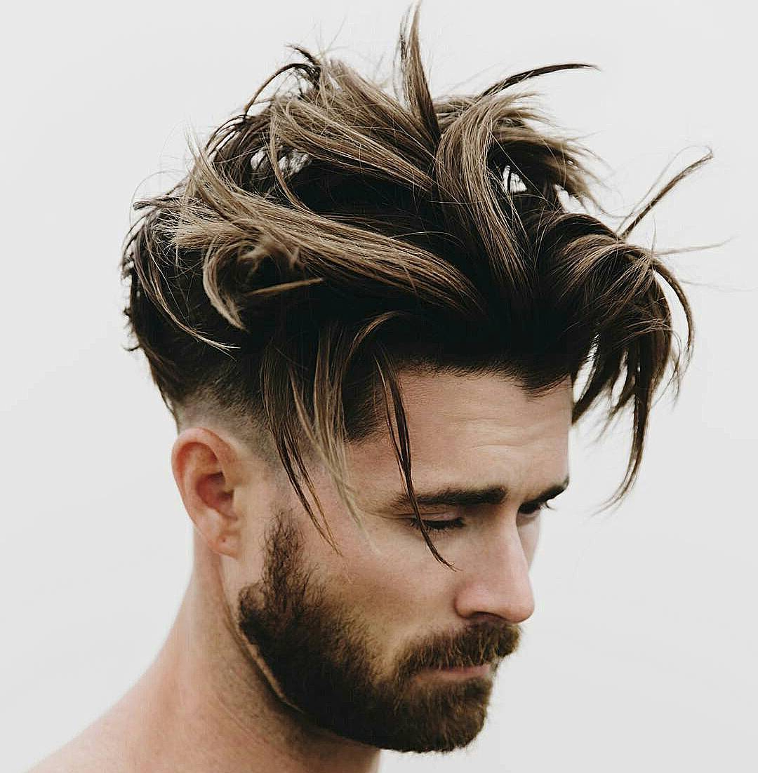 70 Sexy Hairstyles For Hot Men – [Be Trendy In 2018] With Regard To Oluminous Classic Haircuts (Gallery 10 of 20)