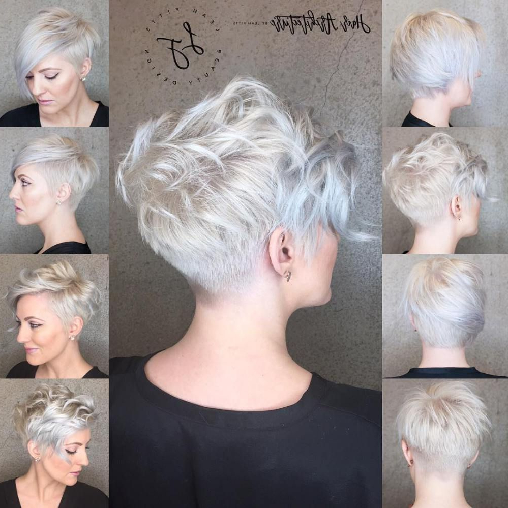 70 Short Shaggy, Spiky, Edgy Pixie Cuts And Hairstyles | Hair Inside Silver Pixie Hairstyles For Fine Hair (View 11 of 20)