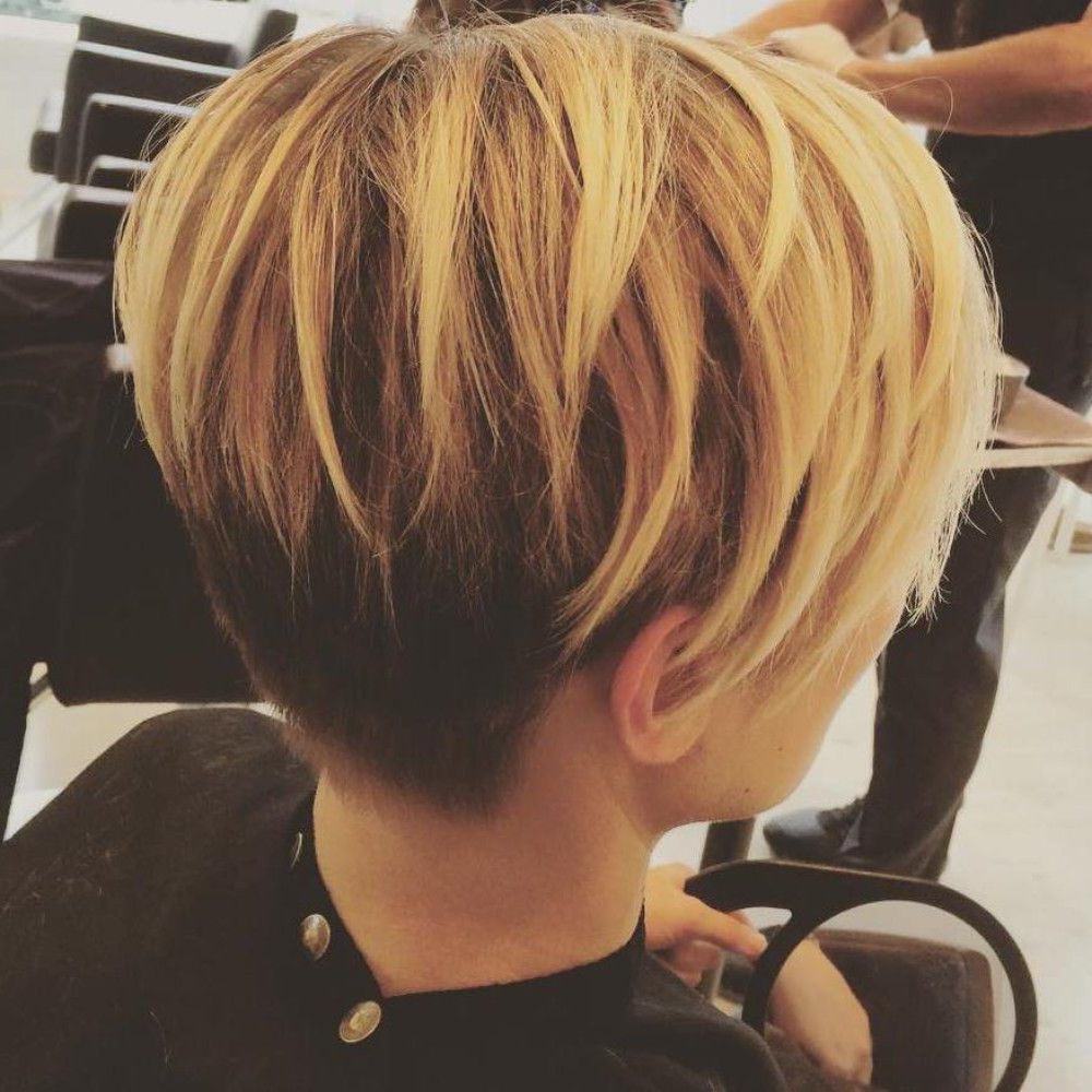 70 Short Shaggy, Spiky, Edgy Pixie Cuts And Hairstyles | Pixie Cut Pertaining To Two Tone Spiky Short Haircuts (View 11 of 20)