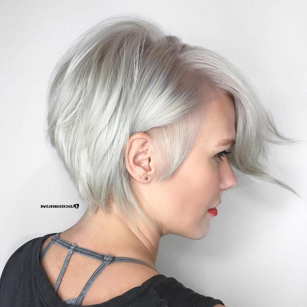 70 Short Shaggy, Spiky, Edgy Pixie Cuts And Hairstyles | Pixies Intended For Silver Pixie Hairstyles For Fine Hair (View 12 of 20)
