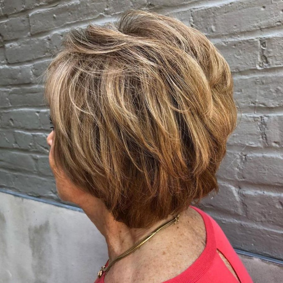 80 Best Modern Haircuts And Hairstyles For Women Over 50 In 2018 With Over 50 Pixie Hairstyles With Lots Of Piece Y Layers (View 4 of 20)