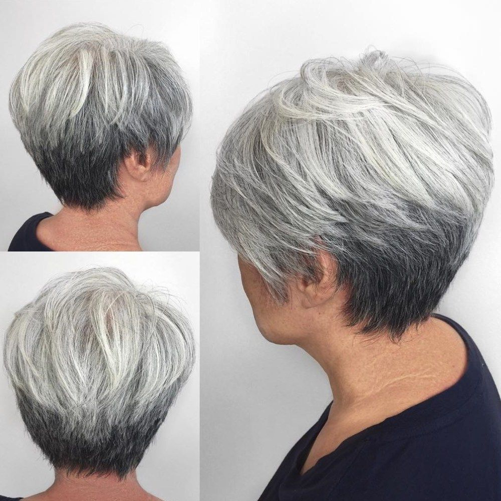 80 Best Modern Haircuts And Hairstyles For Women Over 50 | Short Inside Chic Blonde Pixie Bob Hairstyles For Women Over (View 16 of 20)